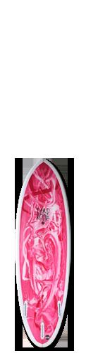 DEADKOOKS-WHITEHEART DEAD KOOKS SURFBOARDS