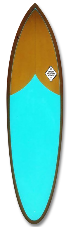JOSHOLDENBURG-RETROSINGLE JOSH OLDENBURG SURFBOARDS