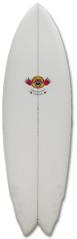 THIRDWORLDEXOTIC-QUADFISH THIRD WORLD EXOTIC SURFBOARDS