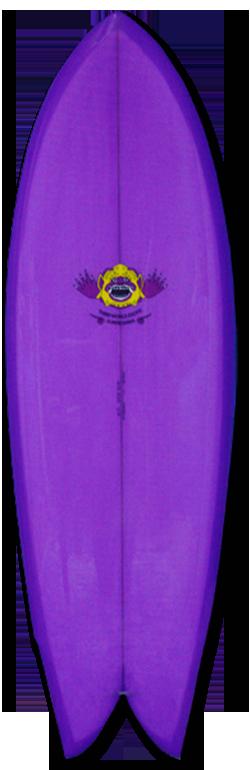 THIRDWORLDEXOTIC-TWINZERFISH THIRD WORLD EXOTIC SURFBOARDS