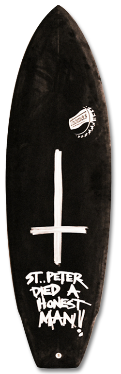 THOMASBEXON-80STHRUSTER THOMAS BEXON SURFBOARDS