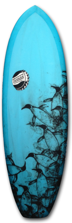 THOMASBEXON-PENGUIN THOMAS BEXON SURFBOARDS